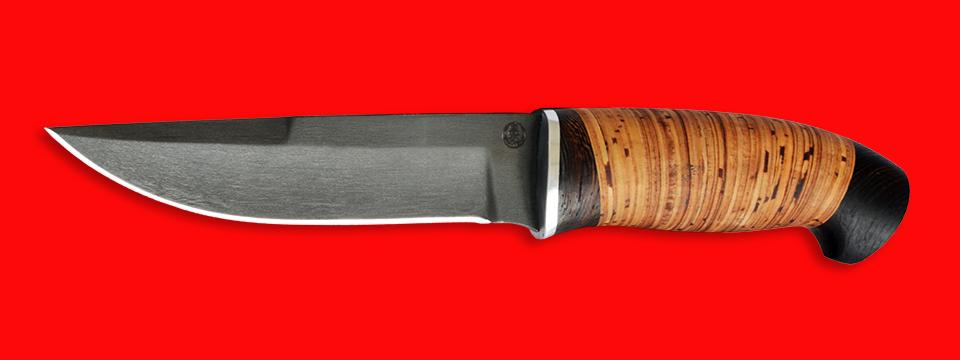 """Нож """"Марал"""", клинок сталь D2, рукоять береста"""