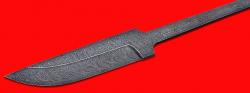 """Клинок для ножа """"Бурундук"""", дамасская сталь"""