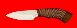 "Нож ""Шершень"", клинок сталь 65Х13, рукоять кожа"