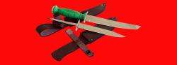 """Нож со сменными клинками на базе НР-43 """"Вишня"""", комплектация """"Боец"""", рукоять пластмасса"""