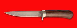 """Нож """"Засапожный №2"""",  клинок сталь D2, рукоять венге"""